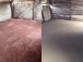 floor before and after