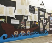 Year 3's Pirate display
