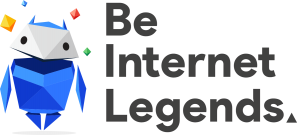 Image result for be internet legends logo